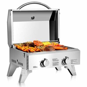 Top 10 Best Stainless steel portable grill reviews