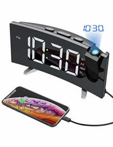 Top 10 Best Clock radio with time projector reviews