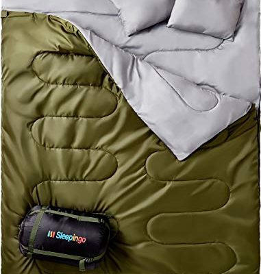 Top 10 Best Double sleeping bag for car camping couples reviews