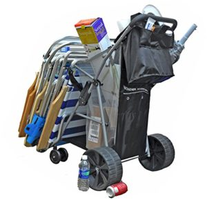 Top 10 Best Beach caddy with big wheels reviews