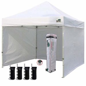 Best Pop up tents with sides review. Read this Pop up tents with sides buyer guide first.