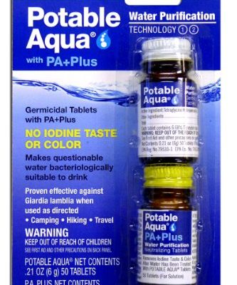 Best Purify water with iodine review. Read this Purify water with iodine buyer guide first.