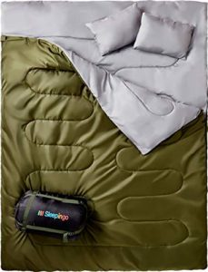 Buy Two person sleeping bags online. Best Two person sleeping bags reviews for you.
