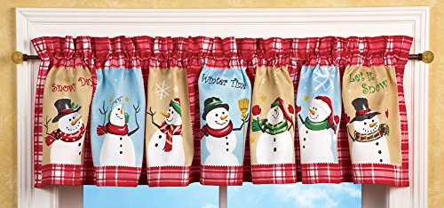Top 10 Best Christmas Valance For Kitchen reviews.