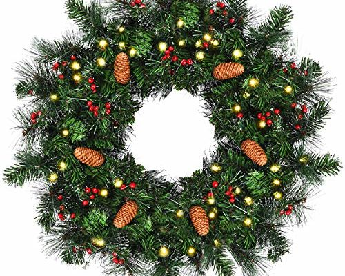 Top 10 Best Christmas Wreaths For Indoors reviews.