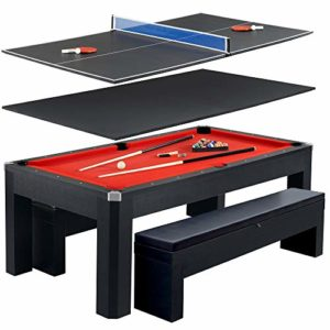 Best Outdoor convertible pool table review. Read this Outdoor convertible pool table buyer guide first.