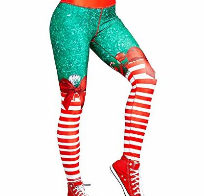 Top 10 Best Christmas Workout Leggings For Women reviews.