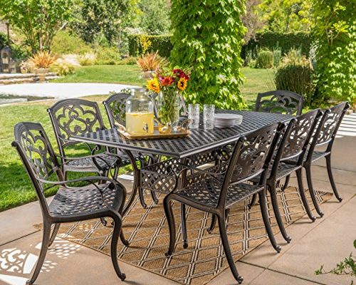 Best 9 Piece Outdoor Dining Set review. Read this 9 Piece Outdoor Dining Set buyer guide first