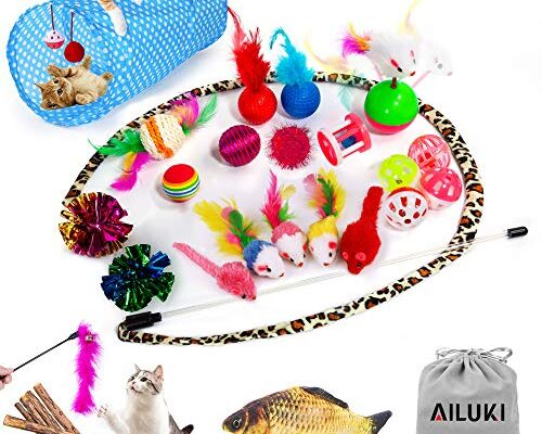 Best Cat Toy Gift Sets review.