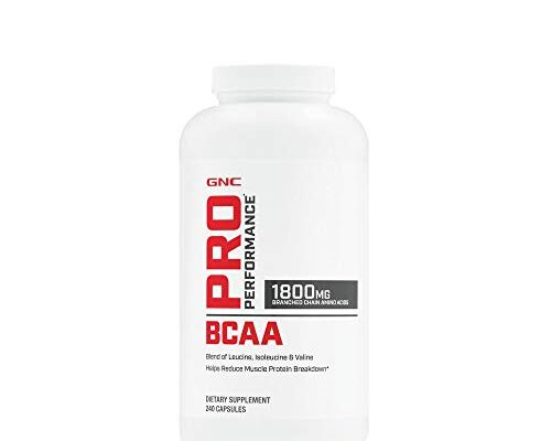 Best Bcaa Gnc Reviews.