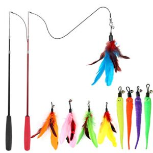 Best Cat Feather Toys Reviews.