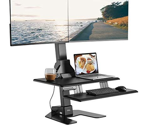 Best Height Adjustable Dual Monitor Stand Reviews.