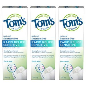 Best Organic Toothpaste For Sensitive Teeth Reviews.