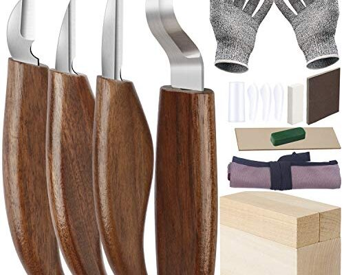 Best Wood Carving Knife Kit Reviews.