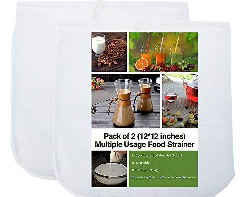 Best Strainer Bag For Nuts Reviews.