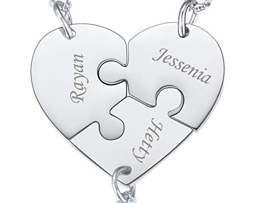 Best Three Way Friends Necklace Reviews.